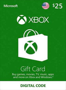 $25 USD Xbox Live Gift Card USA - Chilecodigos
