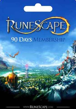 3 Meses Membresia Runescape Gift Card GLOBAL - Chilecodigos