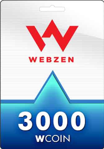 3000 Wcoins Webzen Gift Card GLOBAL - Chilecodigos