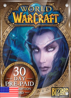 30 Dias Membresia World of Warcraft Gift Card USA