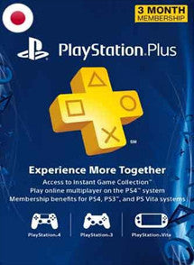 3 meses PSN Plus Gift Card JAPON - Chilecodigos