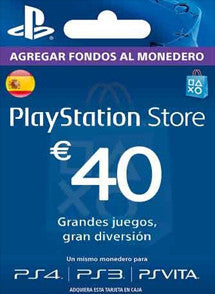 $40 Euros PlayStation Store ESPAÑA, GIFTCARDS, PLAYSTATION - Chilecodigos