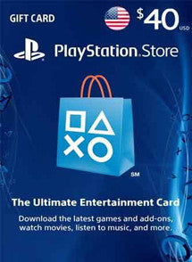 $40 USD PlayStation Gift Card PSN USA - Chilecodigos