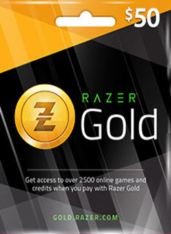 $50 USD Razer Gold Gift Card CHILE - Chilecodigos