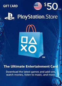 $50 USD PlayStation Gift Card PSN USA - Chilecodigos