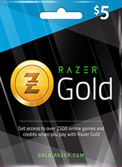 $5 USD Razer Gold Gift Card CHILE - Chilecodigos