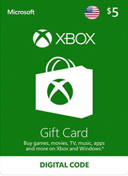 $5 USD Xbox Live Gift Card USA - Chilecodigos