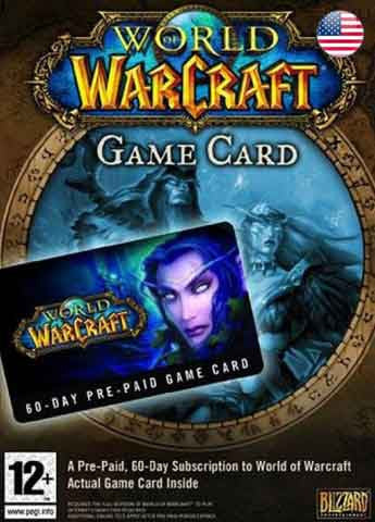 60 Dias Membresia World of Warcraft Gift Card USA - Chilecodigos