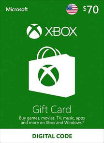 $70 USD Xbox Live Gift Card USA - Chilecodigos