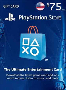 $75 USD PlayStation Gift Card PSN USA - Chilecodigos