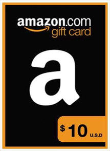 Amazon $10 USD, GIFTCARDS, AMAZON - Chilecodigos