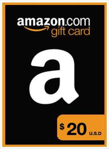 Amazon $20 USD, GIFTCARDS, AMAZON - Chilecodigos