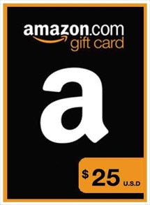 $25 USD Amazon Gift Card USA, GIFTCARDS, AMAZON - Chilecodigos