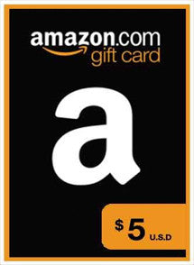 Amazon $5 USD, GIFTCARDS, AMAZON - Chilecodigos