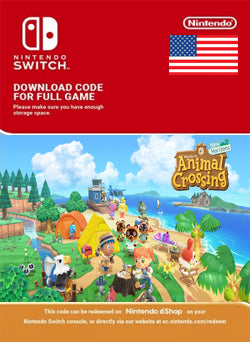 Animal Crossing New Horizons Nintendo Switch - Chilecodigos