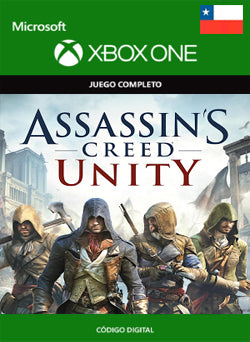 Assassins Creed Unity Xbox One - Chilecodigos