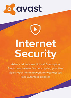 Avast Internet Security 2019 Membresia 1 Año Gift Card - Chilecodigos