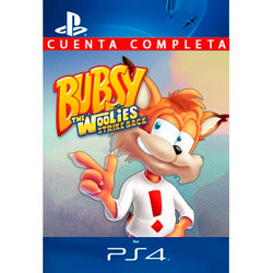 Bubsy The Woolies Strike Back PS4