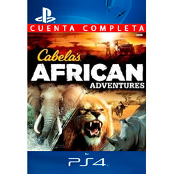 Cabelas African Adventures PS4