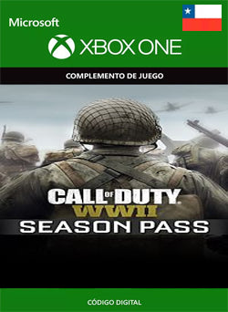 Call of Duty WWII Season Pass Xbox One - Chilecodigos
