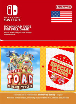 Captain Toad Treasure Tracker + Special Episode DLC Bundle Nintendo Switch - Chilecodigos