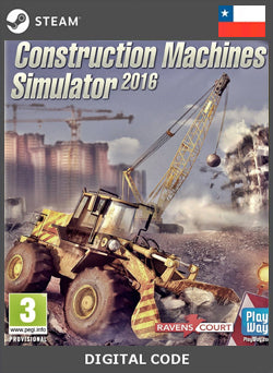 Construction Machines Simulator 2016 STEAM, JUEGOS, STEAM - Chilecodigos