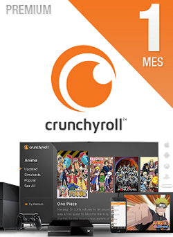 1 Mes Membresia Crunchyroll Premium Gift Card Chile - Chilecodigos