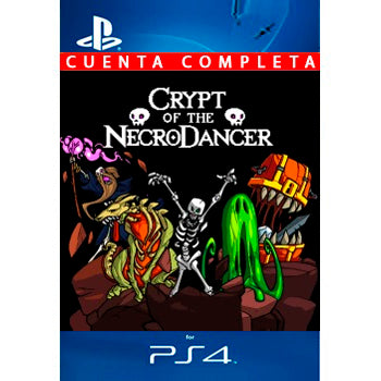 Crypt of the NecroDancer PS4 - Chilecodigos