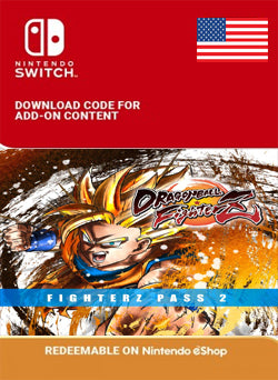 DRAGON BALL FIGHTERZ - FighterZ Pass 2 Nintendo Switch - Chilecodigos