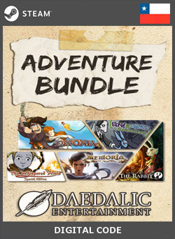 Daedalic Adventure Bundle STEAM, JUEGOS, STEAM - Chilecodigos
