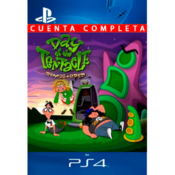 Day of the Tentacle Remastered PS4 - Chilecodigos