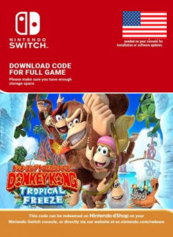 Donkey Kong Country Tropical Freeze Nintendo Switch, JUEGOS, NINTENDO - Chilecodigos
