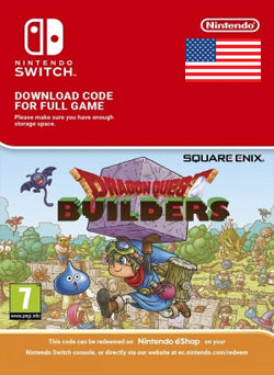 Dragon Quest Builders Nintendo Switch - Chilecodigos