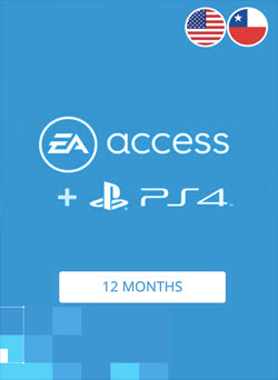 EA Access 12 Meses Membresia PSN Gift Card CHILE Y USA