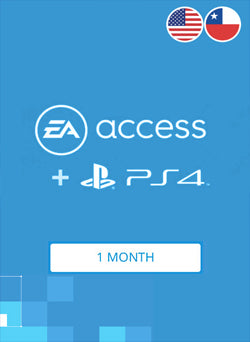 EA Access 1 Mes Membresia PSN Gift Card CHILE Y USA - Chilecodigos