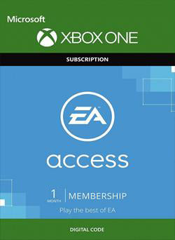 EA Access 1 Mes Membresia Xbox One GLOBAL