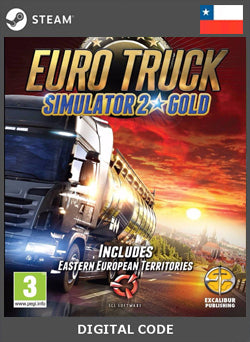 Euro Truck Simulator 2 Gold Edition STEAM, JUEGOS, STEAM - Chilecodigos