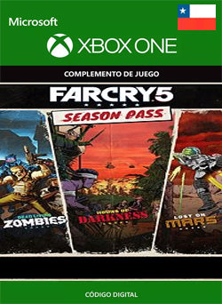 Far Cry 5 Season Pass Xbox One - Chilecodigos