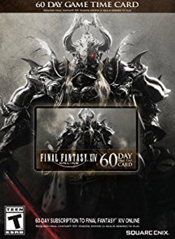 60 Dias Membresia Final Fantasy XIV Gift Card USA - Chilecodigos
