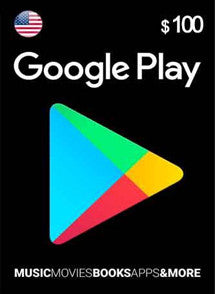 $100 USD Google Play Gift Card USA - Chilecodigos