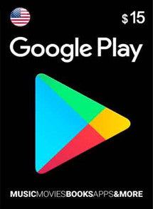 $15 USD Google Play Gift Card USA - Chilecodigos