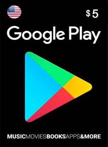 $5 USD Google Play Gift Card USA - Chilecodigos