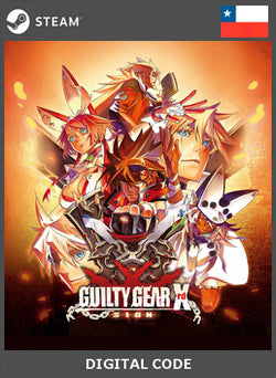 GUILTY GEAR Xrd SIGN STEAM - Chilecodigos