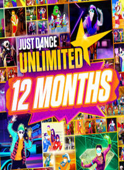 Just Dance Unlimited 12 Months Pass Nintendo Switch