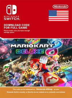 Mario Kart 8 Deluxe Nintendo Switch - Chilecodigos