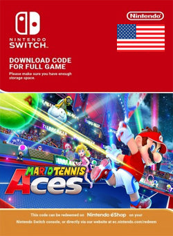 Mario Tennis Aces Nintendo Switch - Chilecodigos