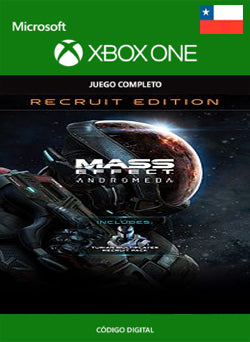 Mass Effect Andromeda Recruit Edition Xbox One - Chilecodigos