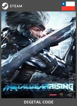 Metal Gear Rising Revengeance STEAM, JUEGOS, STEAM - Chilecodigos