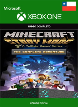Minecraft Story Mode Complete Adventure Xbox One - Chilecodigos