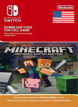 Minecraft Nintendo Switch - Chilecodigos
